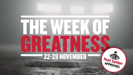 Footlocker 'Week of Greatness' ft Contrix